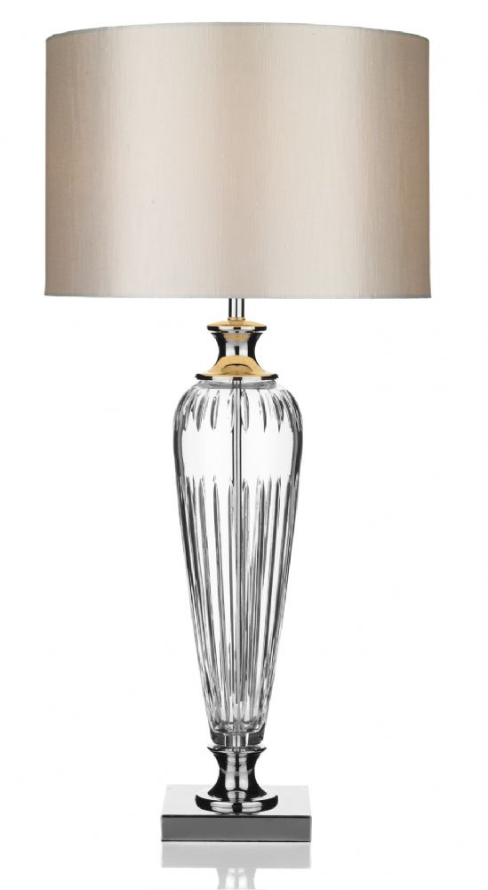 Hinton Table Lamp complete with shade HIN4208 (Class 2 Double Insulated)